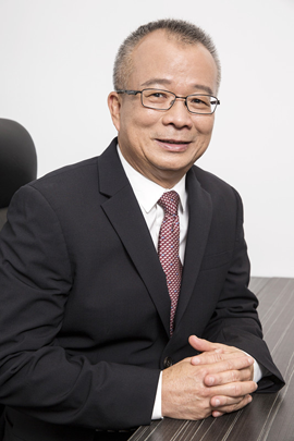 William Sim, president of Heilind Asia Pacific