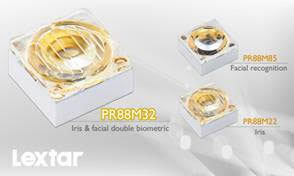 Lextar Electronics Released Iris and Facial Double Biometric IR LED Module
