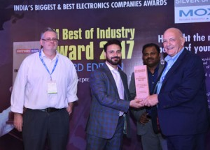 Electrolube Wins EM Best Of Industry Awards For Conformal Coatings 2017