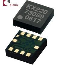 Kionix's New KX220 Analog Accelerometers for the Industrial Market