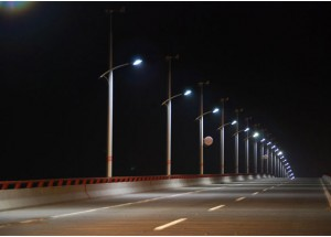 Smart Solar Hybrid LED Streetlight System