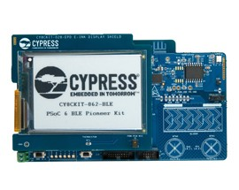 Cypress Semiconductor PSoC 6 BLE Pioneer Kit Now In Stock at Digi-Key