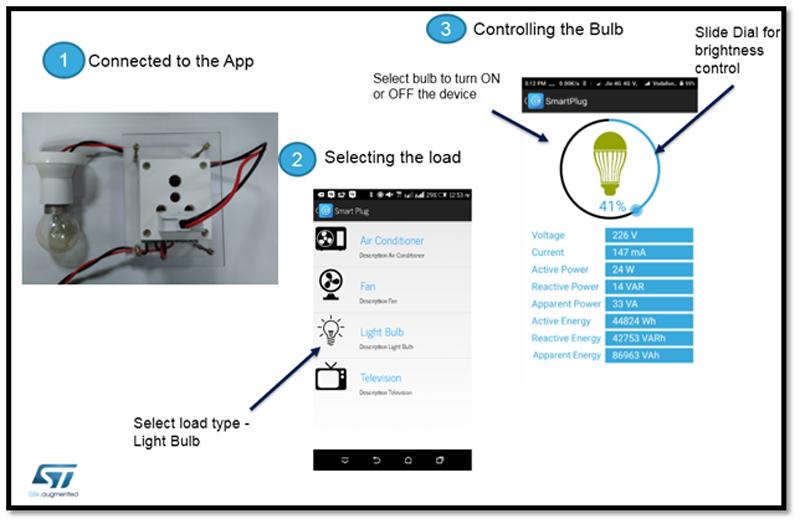 Figure 9. RF Smart Plug Android App Settings