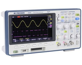 B&K Precision launches Affordable Mixed Signal Oscilloscopes