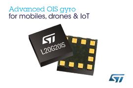 STMicroelectronics' Advanced Image-Stabilizing Gyroscope Enables Shake-Free Photography with Next-Generation Smartphones