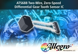 Allegro MicroSystems, LLC announces a new package offering for the two-wire, zero speed differential wheel speed sensor IC