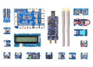SDR starter kit developed for Raspberry Pi, Grove and LimeSDR using Scratch