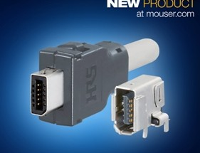Hirose's IX Series I/O Connector, Now at Mouser, Supports 10 Gbps Cat6A for Industry 4.0