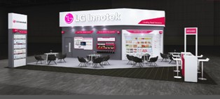 [Photo] LG Innotek's booth image