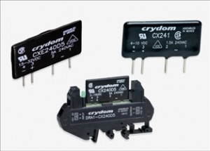 Solid State relays from Sensata Crydom for high density PCB applications now available through TTI, Inc.
