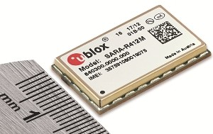 u-blox introduces world's smallest LTE Cat M1 and NB-IoT multimode module with quad band 2G fallback