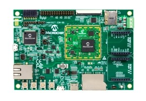 Microchip simplifies industrial-grade Linux® designs with SAMA5D2 MPU-based System on Module (SOM)