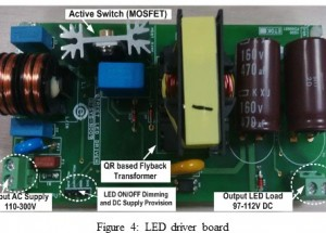 THD improvement in constant current LED driver for street lighting applications