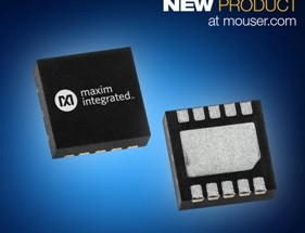 Mouser Now Offering Maxim Integrated's MAX2250xE Transceivers for High-Performance Motion Control