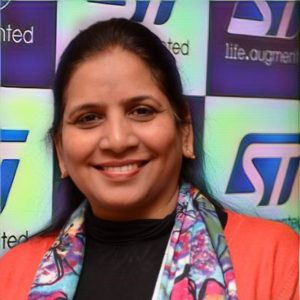 Sapna Mongia, Head - Smart Grids and Metering, South Asia, Power and Discrete, STMicroelectronics