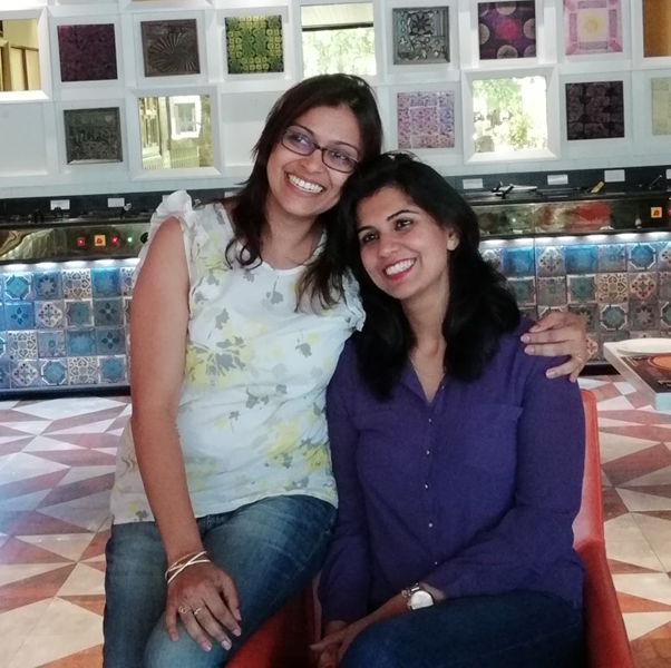 Right - Dipika Trehan, CEO of The HOW forum, Left -  Shweta Dhadiwal Baid, marketing professional from Renesas Electronics India