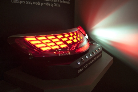 LG Display to Showcase Luflex OLED Lighting Products At