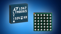 Mouser Now Shipping Analog Devices LTM8065 µModule Regulator with Silent Switcher Tech to Lower EMI/EMC