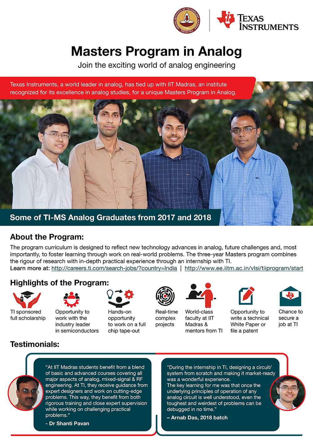 Texas Instruments India S Partnership With Iit Madras For