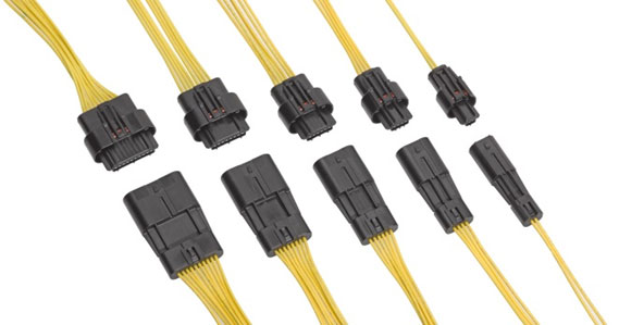 Molex's Squba 1.80mm-Pitch Sealed Wire-to-Wire Connector System