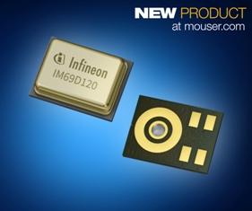 PRINT_Infineon IM69D120 & IM69D130 XENSIV MEMS Microphones