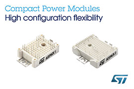 New ACEPACK™ Power Modules from STMicroelectronics Deliver Advanced Performance and Economy