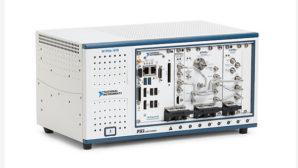 Figure 2: The NI PXIe 5668 offers wide bandwidth with high-performance measurement performance and speed to help you measure beyond RF power with demodulation