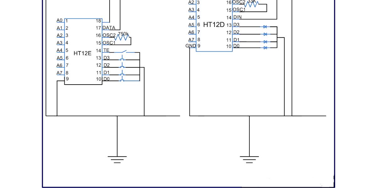 Robotic Remote control circuit - Electronics Maker