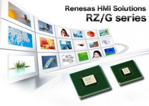 High-Performance RZ/G1C microprocessor enables HMI applications