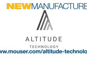 Mouser Signs Global Distribution Agreement with Altitude Technology