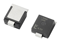 High power LTKAK Series TVS Diodes from Littelfuse offer superior clamping compared to standard silicon avalanche diodes – now in stock at TTI, Inc.