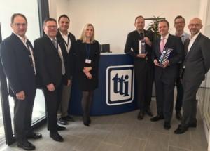 TTI, Inc. wins Vishay's European Distribution Awards for Full Service and Passives