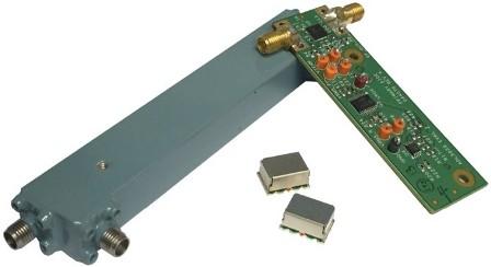 Slika 3. Priključni spojni usmjerivač, usmjerivač na površini i ADL5920 integrirani IC s usmjerenim mostom i dvostrukim rms detektorima.
