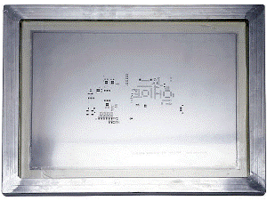 Fig.3: Framed Stencil