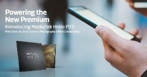 """MediaTekUnveilsNew Helio P22 Chipset to Power Mid-Range """"New Premium"""" Smartphones"""
