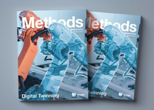 Latest Issue of Mouser's Methods Technology E-zine  Dives Deep into Digital Twinning