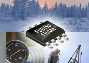Fujitsu has launched a 64-Kbit FRAM Guaranteed to Operate as low as -55℃