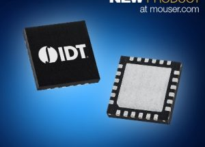 IDT's 9FGV100x PhiClock Generators, Now at Mouser, Offer PCIe Gen4/Gen5 Support with Excellent Ethernet Performance