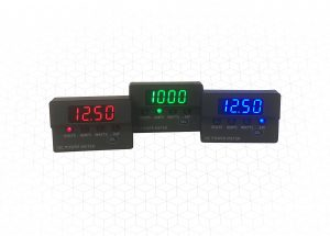 New multifunction DC panel meters from Murata Power Solutions display voltage, current and power up to 96kW