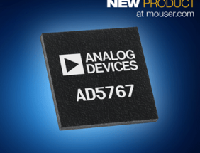 Mouser Now Shipping Analog Devices' AD5767 Voltage Output denseDAC for Optical Networking, Automation, and Telecom
