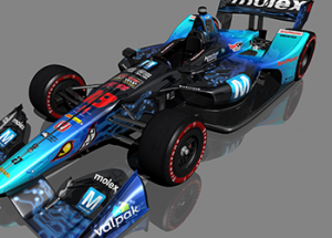 Mouser-Sponsored IndyCar Flies Mouser Colors at Toronto Street Course
