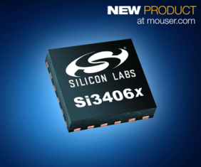 Mouser Now Stocking Silicon Labs' Si3406x POE+ Powered Device Family for High-Wattage IoT Applications