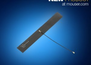 Mouser Now Stocking Molex Cellular Flexible Antennas for LTE and 4G Technologies