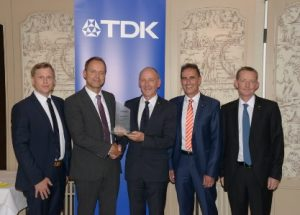 TTI, Inc. wins Silver Award from TDK Europe in their annual European Distribution Awards