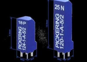 Industry's Smallest Through-Hole Reed Relay from Pickering Electronics Debuts in UK at Engineering Design Show