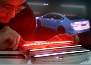 "LG Innotek Unveiled ""Nexlide-L"" for Automotive Ultra-slim Line Lamps"
