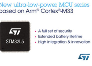 STMicroelectronics Introduces STM32L5 Ultra-Low-Power Microcontrollers for a More Secured IoT