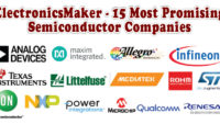ElectronicsMaker – 15 Most Promising Semiconductor Companies