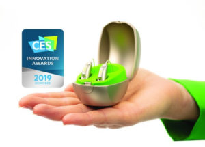 Phonak honored for 'Accessibility' and '3D Printing' with two CES 2019 Innovation Awards