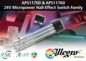Rugged Micropower Magnetic Sensor ICs Maximize Battery Life, Improve System Efficiency
